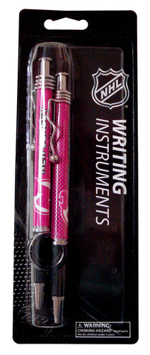 NHL New Jersey Devils 2-Pack Pink Jazz Pens