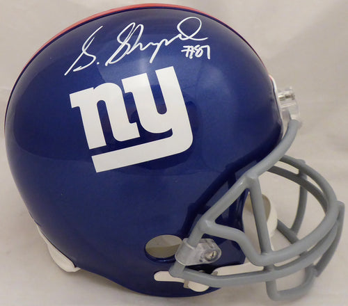 Sterling Shepard Autographed New York Giants Full Size Replica Helmet