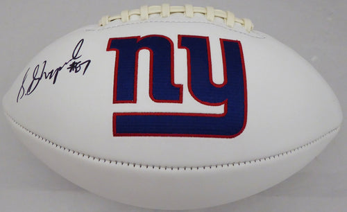 Sterling Shepard Autographed New York Giants White Logo Football