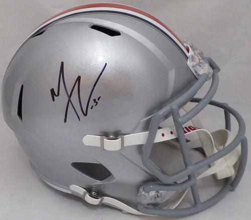Michael Thomas Autographed Ohio State Buckeyes Full Size Speed Replica Helmet