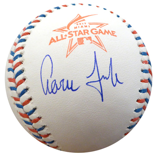 Aaron Judge Autographed Official 2017 All Star Game Baseball New York Yankees 1st All Star Game