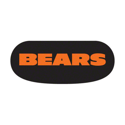 Party Animal Stick-On Eye Black Strips - NFL Chicago Bears