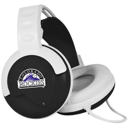 Pangea Brands Fan Jams MLB Headphones - Colorado Rockies