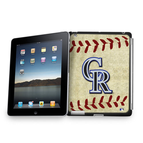 Ipad3 Vintage Baseball Cover - Colorado Rockies