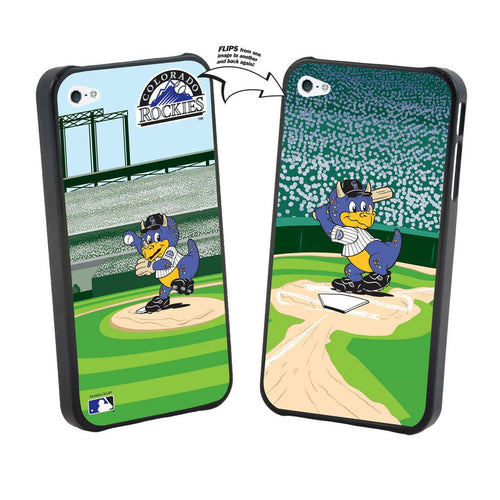 Iphone 5 MLB Colorado Rockies Mascot Lenticular Case