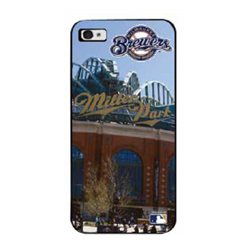 MLB Milwaukee Brewers IPhone 4/4s Hard Cover Case #2