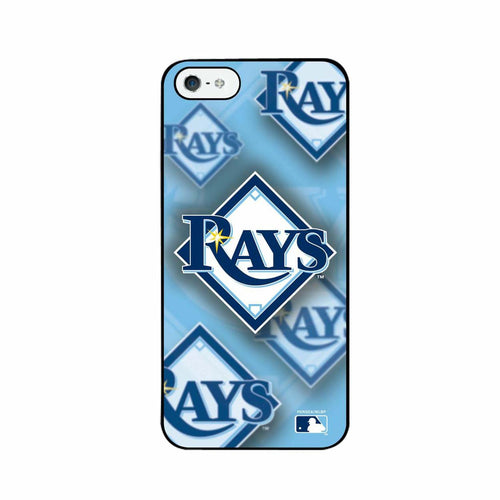 Iphone 4/4S MLB Tampa Bay Rays 3D Logo Case