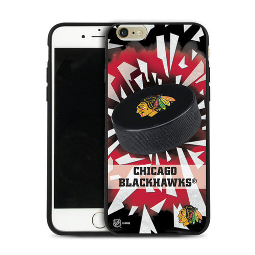 Pangea NHL Chicago Blackhawks Puck shatter iPhone 6 Cover