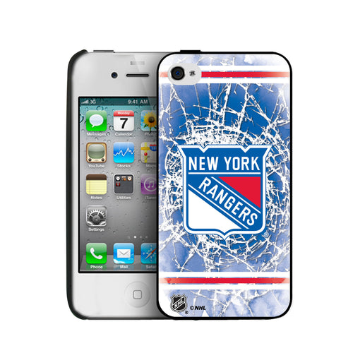 Iphone 4/4S Hard Cover Case - New York Rangers