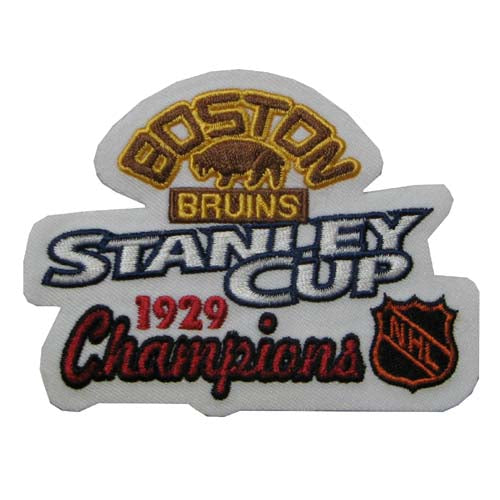 NHL Stanley Cup Champions Patch - Boston Bruins 1929