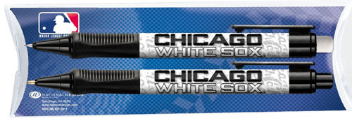 National Design Chicago White Sox Grip Pen and Pencil Set in Pillow Pack (11014-FAF)