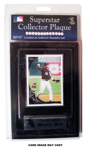 MLB Chicago White Sox Gordon Beckham Card Plaque