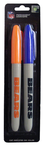PSG NFL Chicago Bears 2-Pack Markers