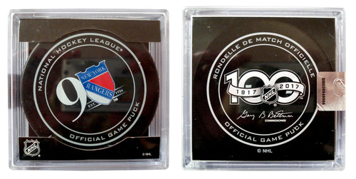 Official Hockey Puck - New York Rangers