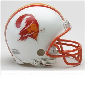 Riddell Throwback Mini Helmet - NFL Tampa Bay Buccaneers 1976-1996