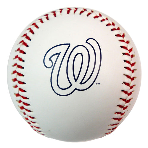 Baseball With Team Logo - Washington Nationals