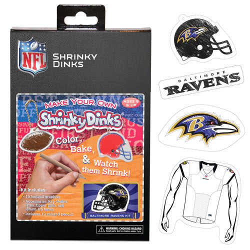 Baltimore Ravens Shrinky Dinks