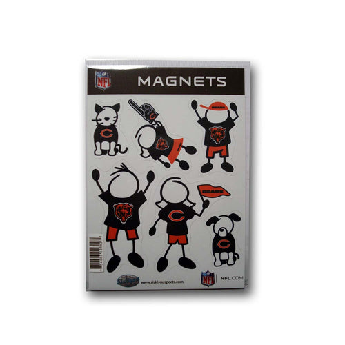 Family Magnets - Chicago Bears