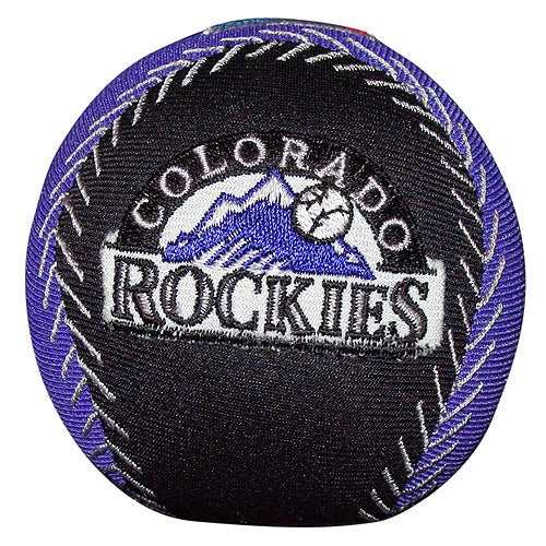 3.5 X 3.5 Talking Baseball Smasher - Rockies