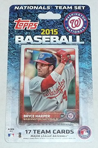 2015 Topps MLB Team Set - Washington Nationals