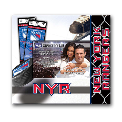 That's My Ticket New York Rangers Scrapbook