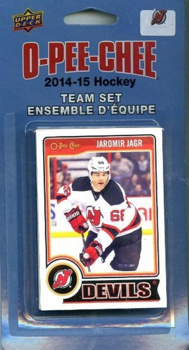 2014 15 Upper Deck O-Pee-Chee 17 card set- New Jersey Devils