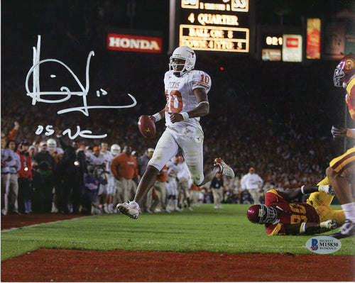 Vince Young signed and inscribed