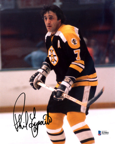 Phil Esposito Autographed 8x10 Photo Boston Bruins