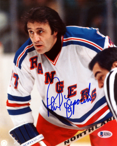 Phil Esposito Autographed 8x10 Photo New York Rangers