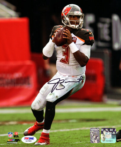 Jameis Winston Autographed 8x10 Photo Tampa Bay Buccaneers PSA/DNA