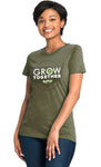 USA Grow Together Ladies' Tri Blend Tee