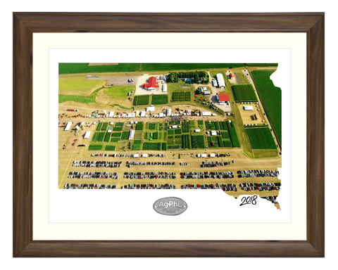 Ag PhD Field Day Framed Print