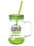 Ag PhD Grow Together Mason Jar Mug
