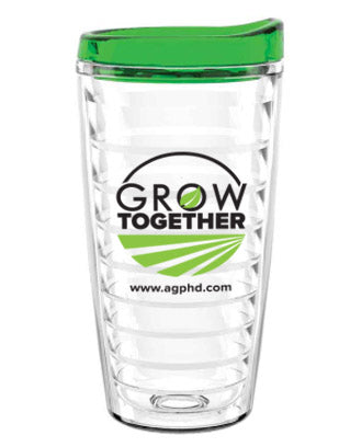 Ag PhD Grow Together Tumbler