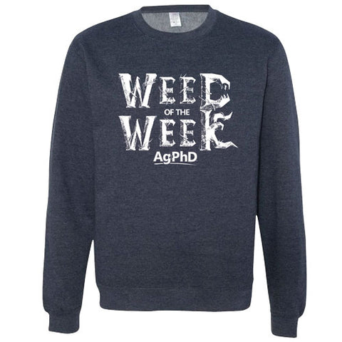 Weed of The Week Crew Neck Sweatshirt