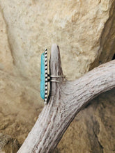 Reid Turquoise Oval Ring