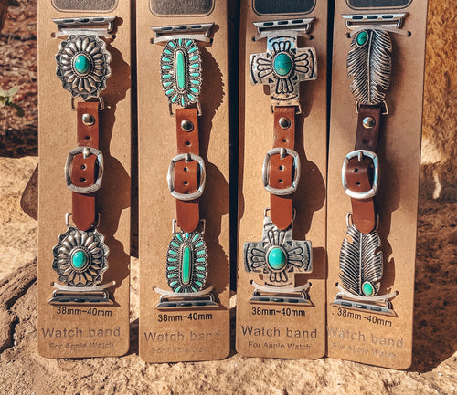 Turquoise Apple Watch Bands (38MM-40MM)