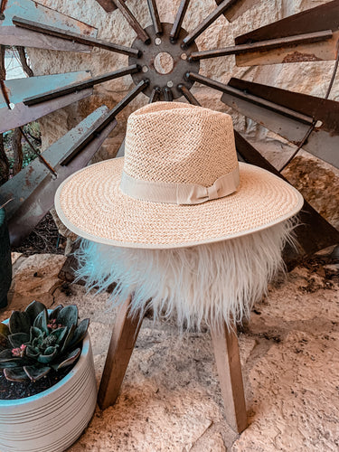 The Hackberry Straw Hat (Tan)