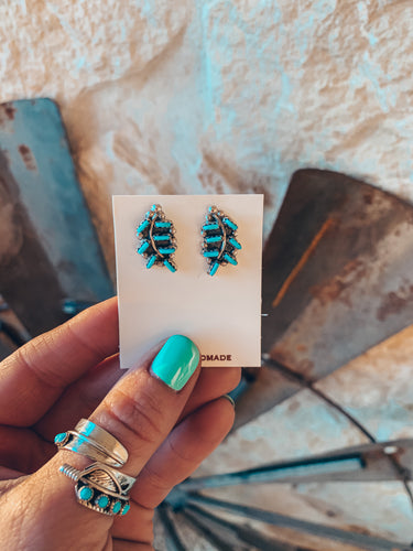 The Los Almos Turquoise Earrings