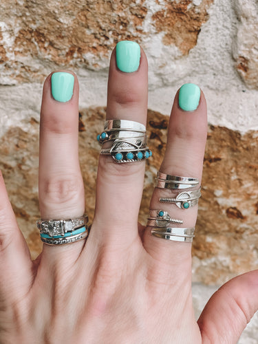 The Tioga Turquoise Ring