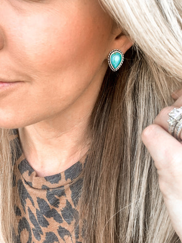 Kendrick Turquoise Earrings