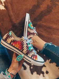 The Calaveras Aztec Shoes