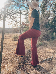 The Fresno Bell Bottoms (Red)