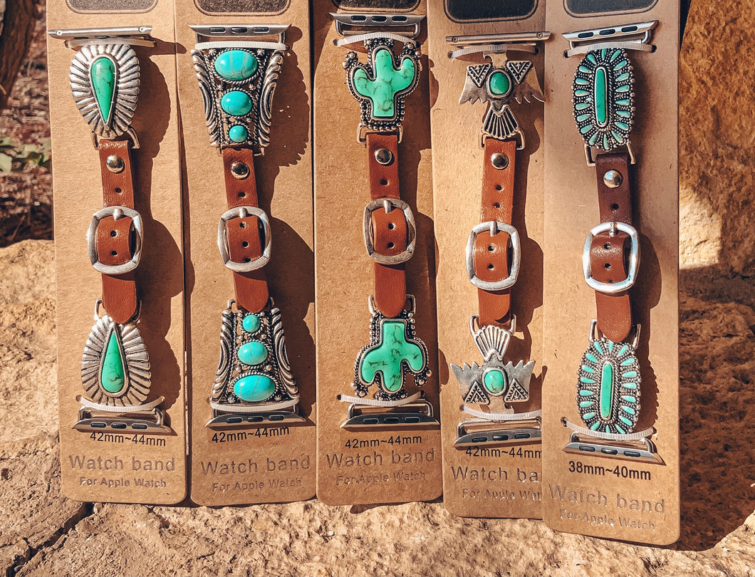 Turquoise Apple Watch Bands (42MM-44MM)