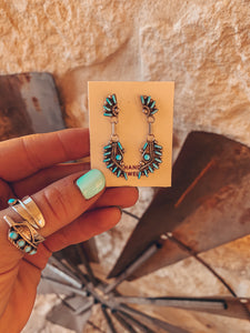 The Encio Turquoise Earrings