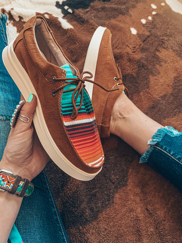 The Denison Serape Shoes