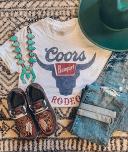 Coors Rodeo Tee (White)