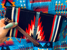 The Ole Little Bill Saddle Blanket Wristlet (Black)