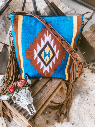 The Ole Doc Holiday Saddle Blanket Purse