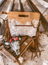 The Ole Morgan Cowhide Handbag (Gold)